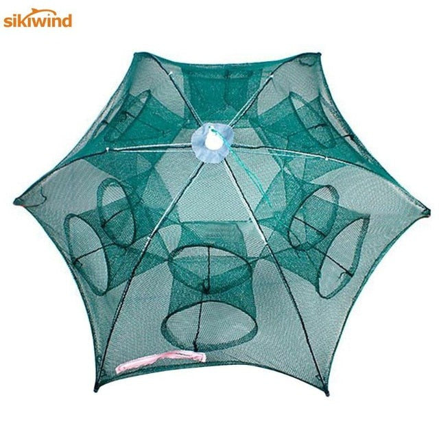 Universal Folding Nylon Fishing, Shrimp, Crab Net Trap