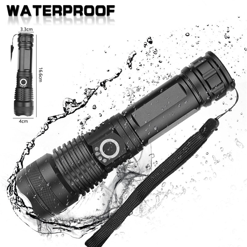 FutureLight™: XHP50 Powerful 5 Modes Flashlight with Zoom