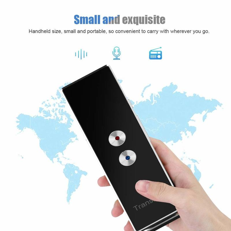 Portable Translator, 40+ Languages in Real-Time
