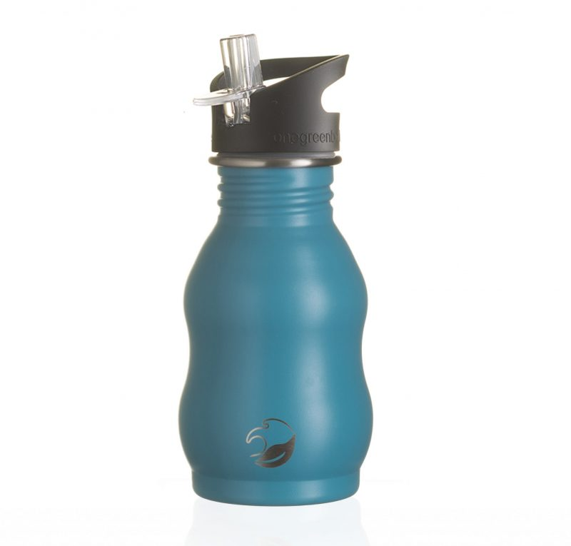 350ml Teal Stainless Steel Bottle Powder Coated