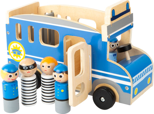 Wooden Police Bus