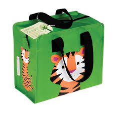 Tiger Print Lunchbag from Recycled Bottles