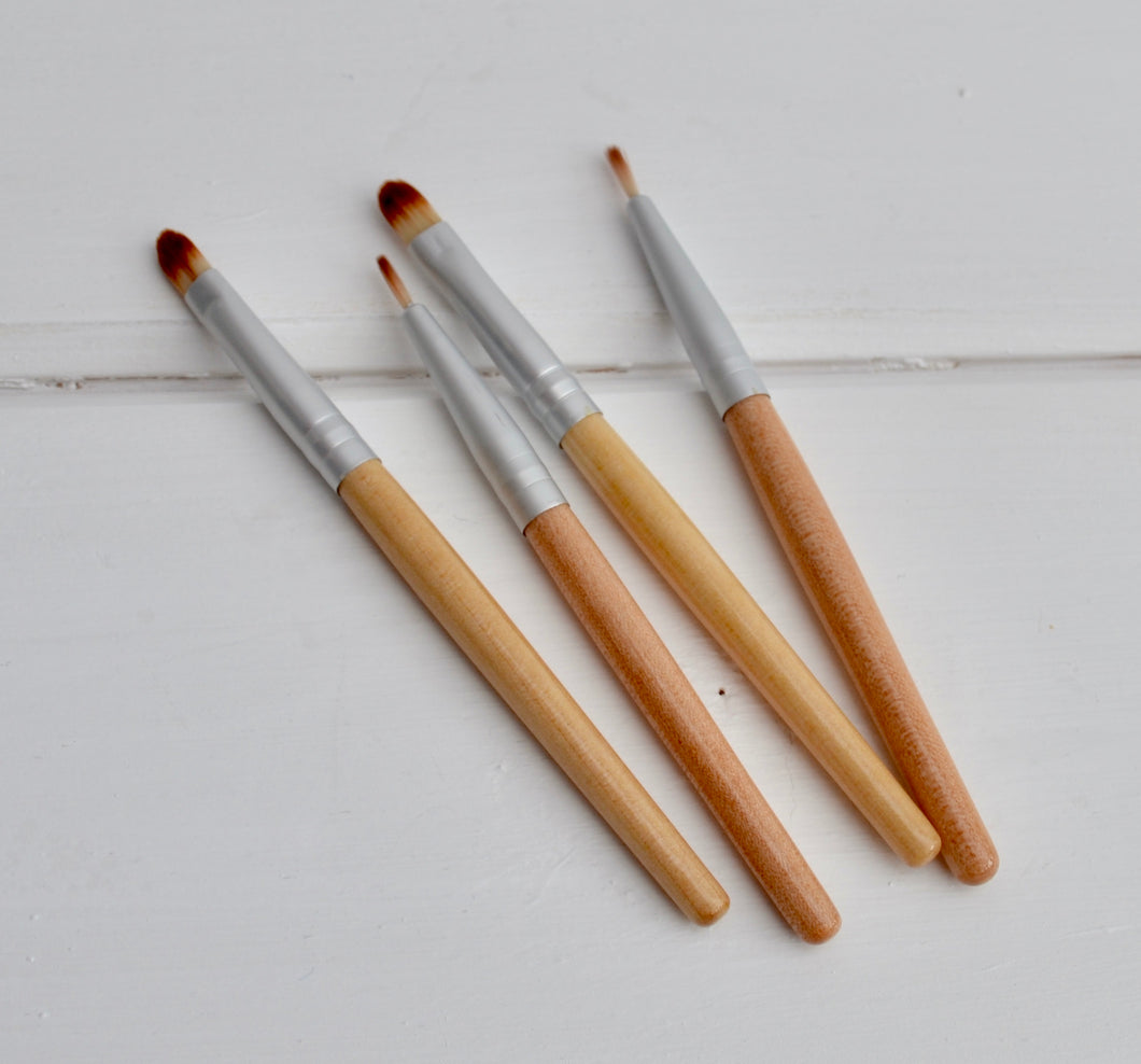 Natural Earth Paint Bamboo Make Up Brushes