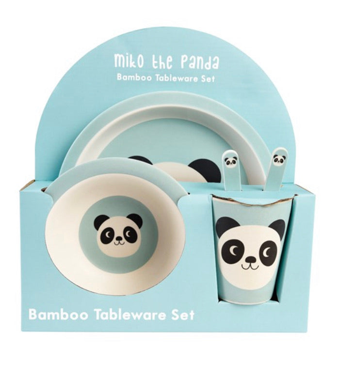 Childrens Panda Dinner Set
