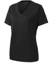 Load image into Gallery viewer, Sport-Tek LST340 Ladies PosiCharge RacerMesh V-Neck Tee