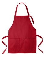 Load image into Gallery viewer, Port Authority® A601 Medium-Length Two-Pocket Bib Apron