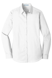 Port Authority® LW100 Ladies Long Sleeve Carefree Poplin Shirt