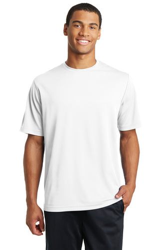 White Sport-Tek ST340 Short Sleeve T-Shirt