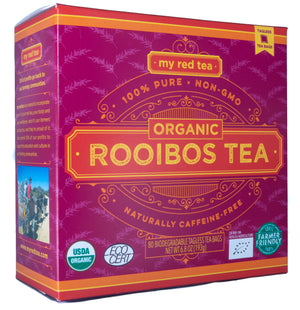My Red Tea Organic Rooibos - 80/160 Tagless Teabags