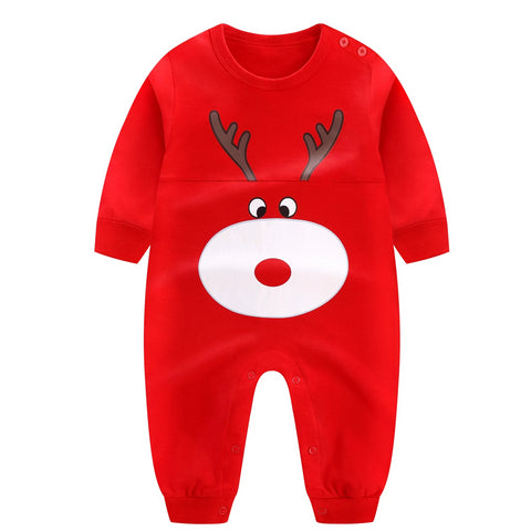 Playful Rudolph Jumpsuit