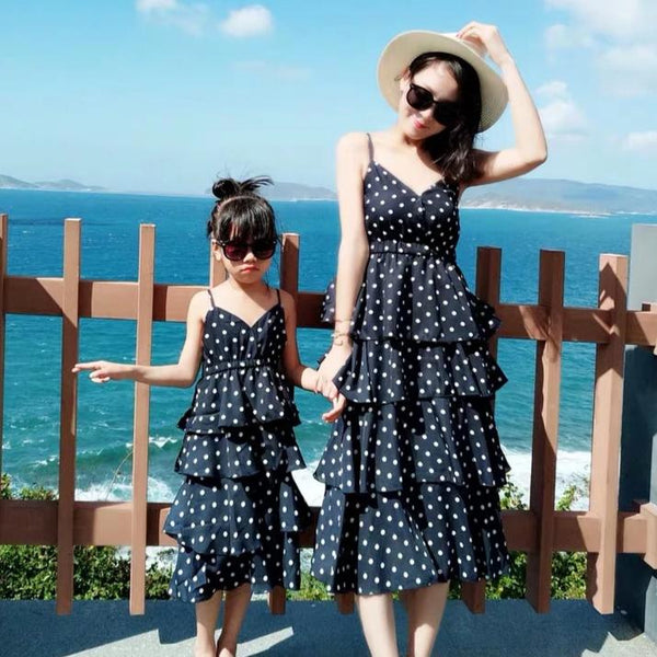 [PO] Dawn Polka Dots Mini Me Dress
