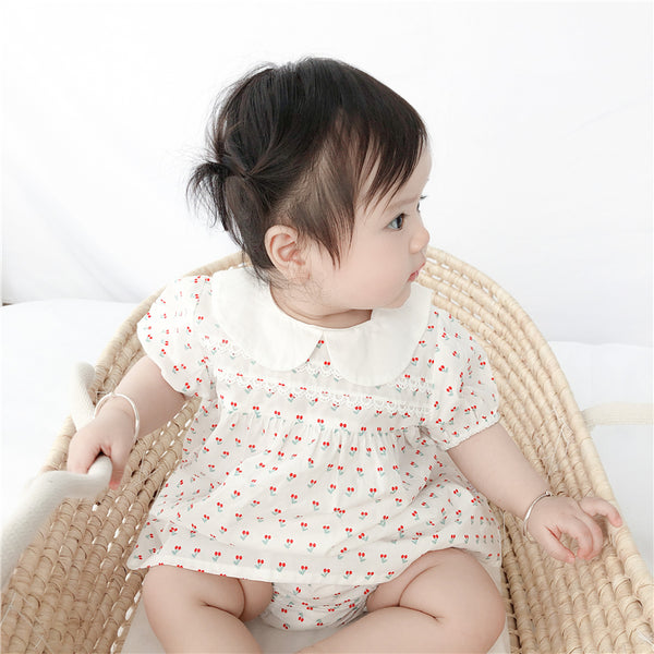 [PO] Laura Peter Pan Collar Baby 2 Piece Set