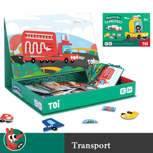 Creative Magnetic Puzzle Book - Transport