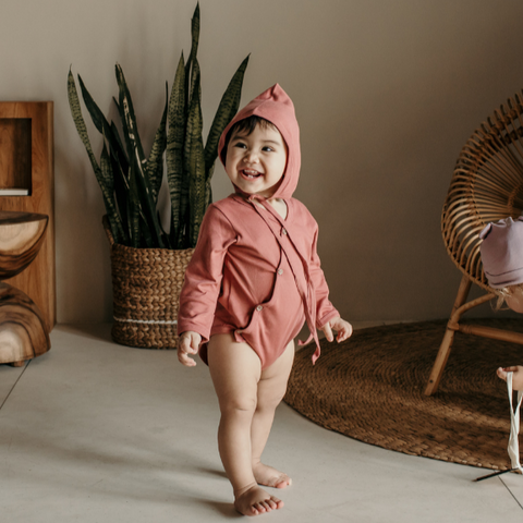Organic Cotton Long Sleeve Bodysuit