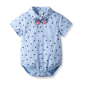 Starry Blue Stylish Bodysuit