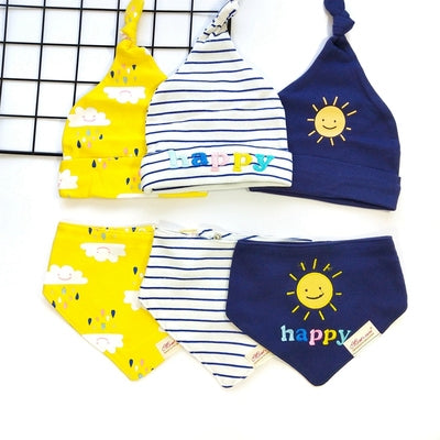 [PO] Baby Beanie & Bib Set (10 Designs)