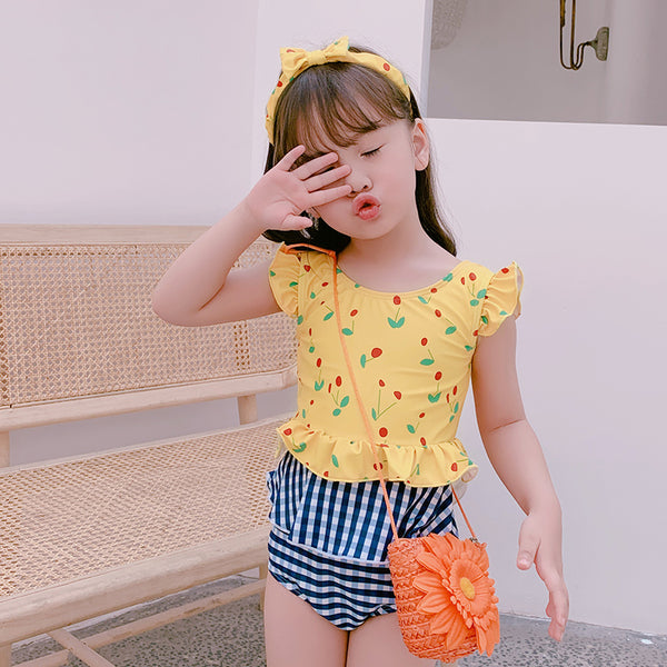 [PO] Summer Cherries 2 Piece Swimsuit