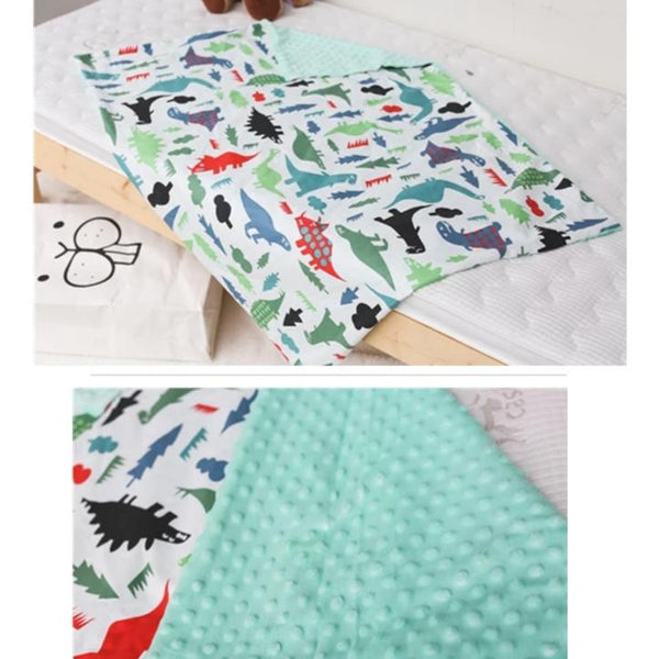 Enchanting World Minky Blanket - Snuggly Soft Cotton (4 Designs)