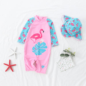 [PO] Tropical Flamingo Swimsuit