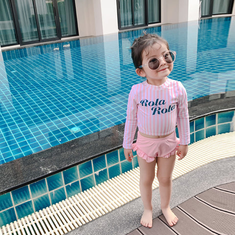 [PO] Rola Long Sleeve 2 Piece Swimsuit
