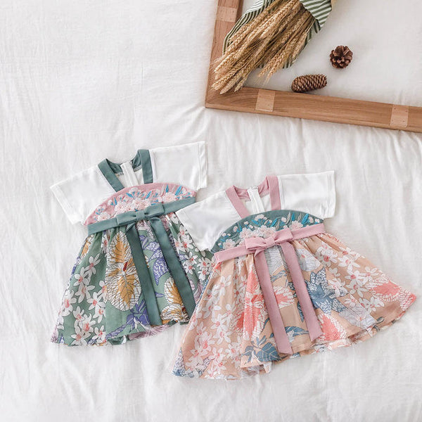 [PO] Jade Embroidered Oriental Dress