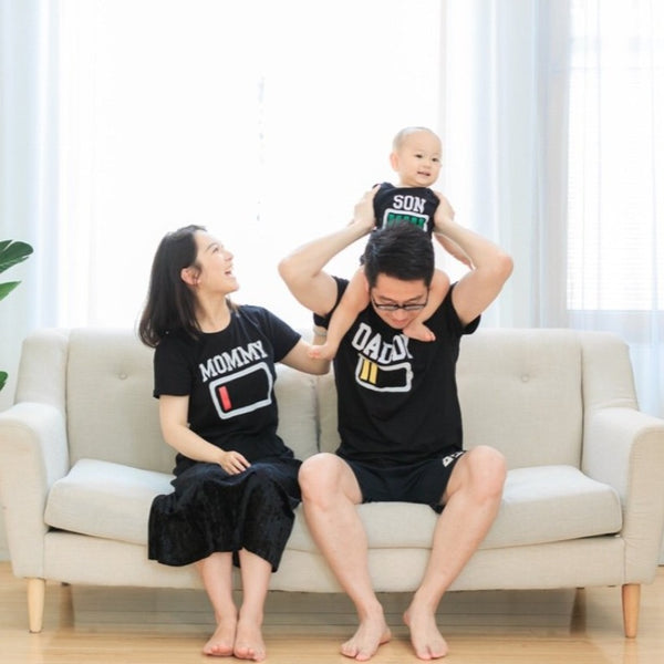 [PO] Battery Series Family Tees (Raglan-Sleeves)