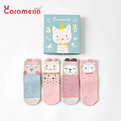 [PO] Toddler Ankle Socks Gift Set (10 Designs)