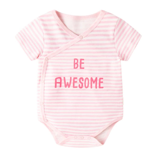 Be Awesome Pink Bodysuit