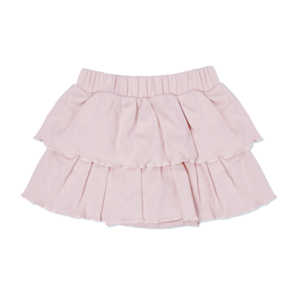 Organic Cotton Ruffle Skirt
