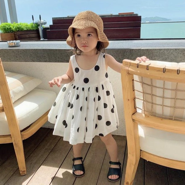 [PO] Gwen Polka Dots Mini Me Dress