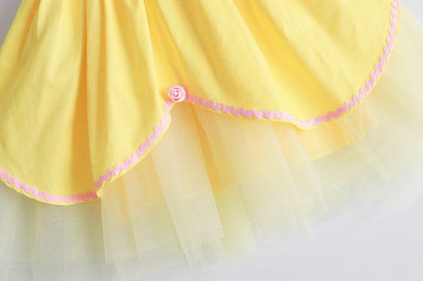 [PO] Belle Beauty and the Beast Princess Costume