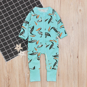 Gull Blue Sleep Suit