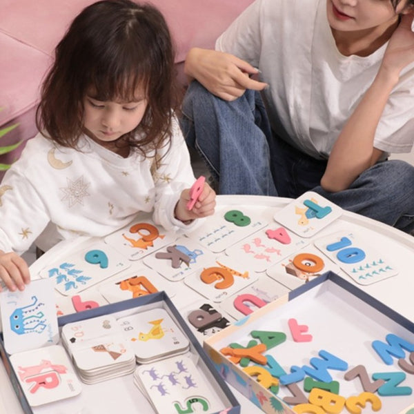[PO] Alphabets & Numbers Match and Learn Cards