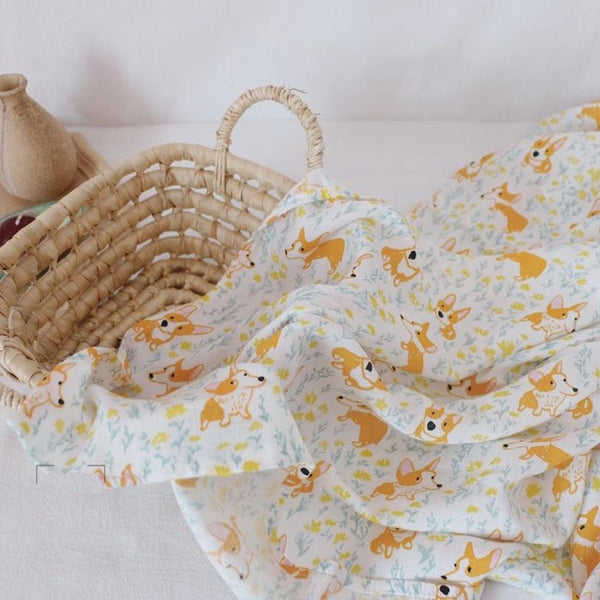 Tenderly Double Layer Bamboo Muslin Swaddle (10 Designs)
