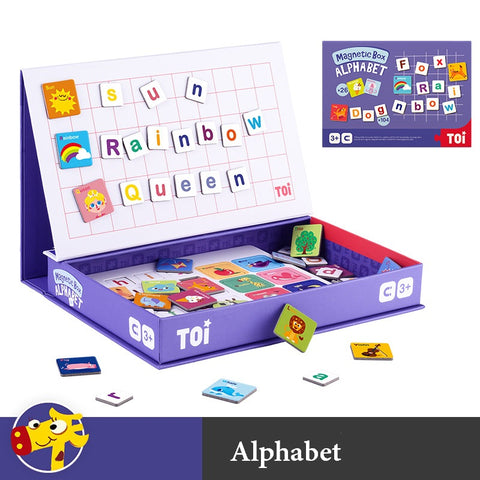 Creative Magnetic Puzzle Book - Alphabet