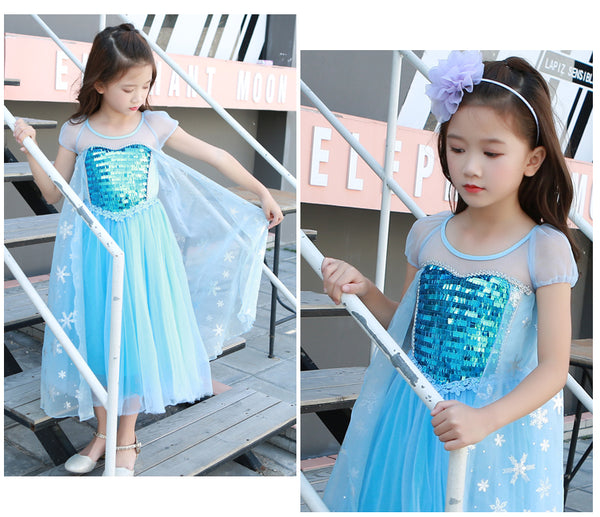 [PO] Elsa Frozen Princess Costume