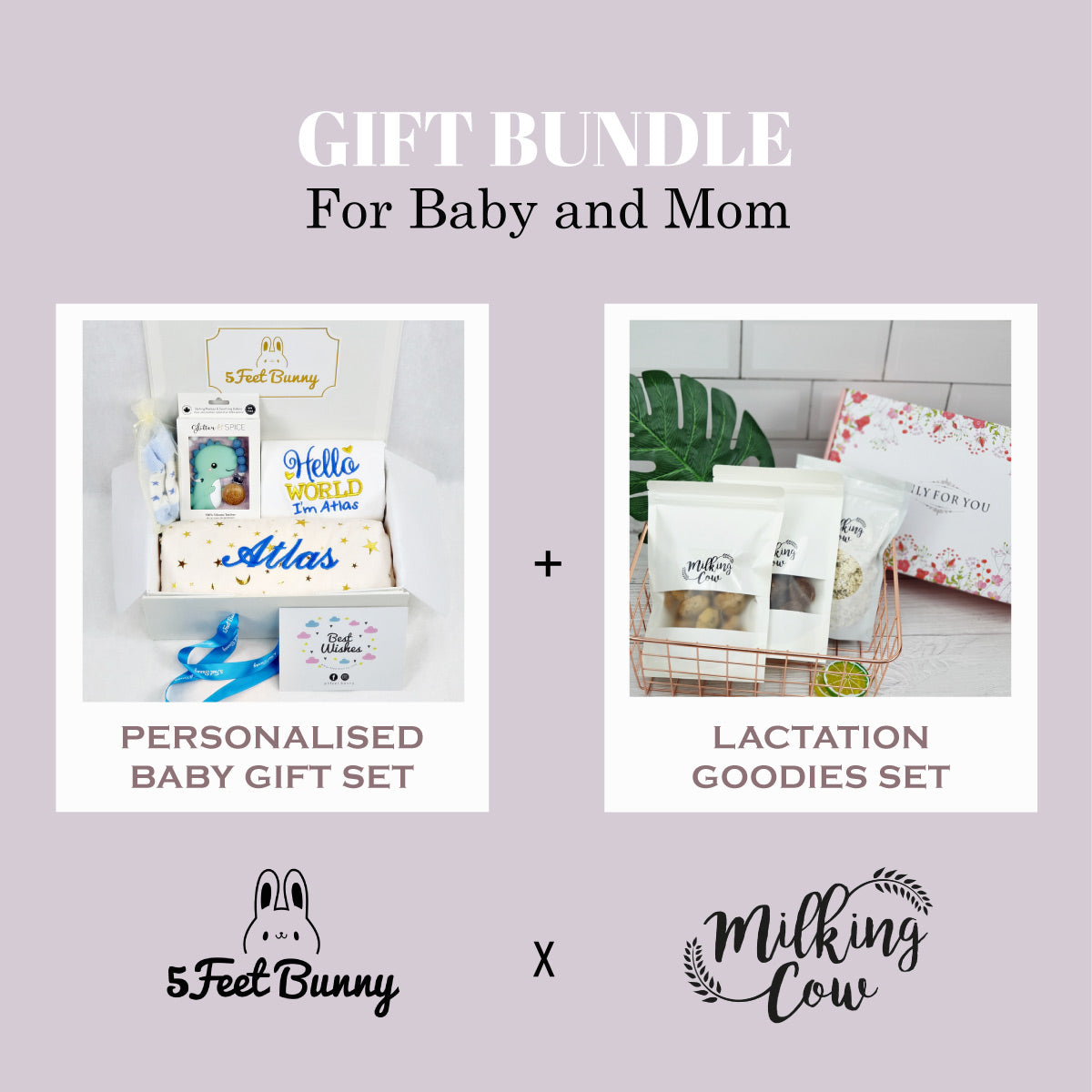Starry Hello World Gift Set & Lactation Goodies Set