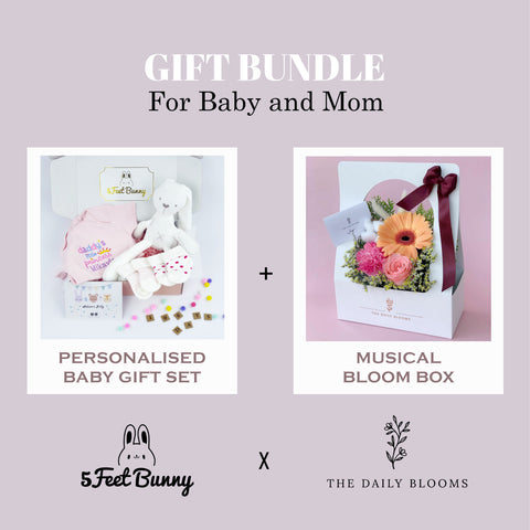 Petite Lil' Bub Gift Set & Musical Floral Box