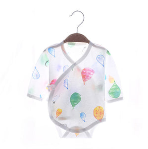 Hot Air Balloon Watercolor Kimono Bodysuit (Mesh Series)