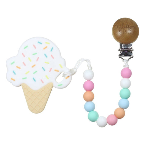 Glitter & Spice - Ice Cream Cone Teether