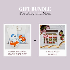 Little Animal Buddy Gift Set & Bird's Nest Bundle