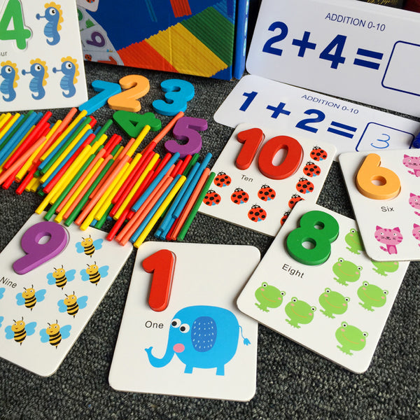 Learn to Count Math Jumble Game