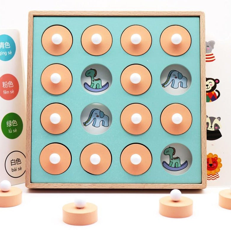 Montessori Toy - Mix & Match Memory Puzzle