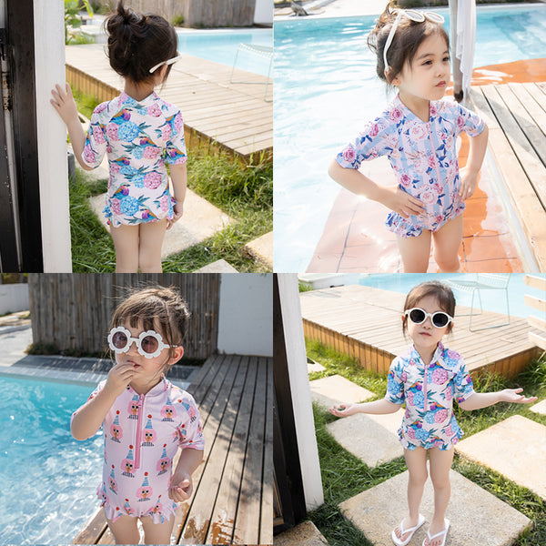 [PO] Summer Mid Sleeves Series Swimsuit (3 Designs)