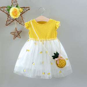 Ellie Pineapple Dress