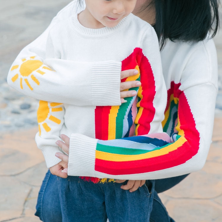 [PO] Kiki Rainbow Mini Me Sweater