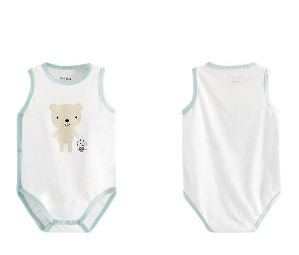 Coco Bunny & Bebe Bear Sleeveless Bodysuit