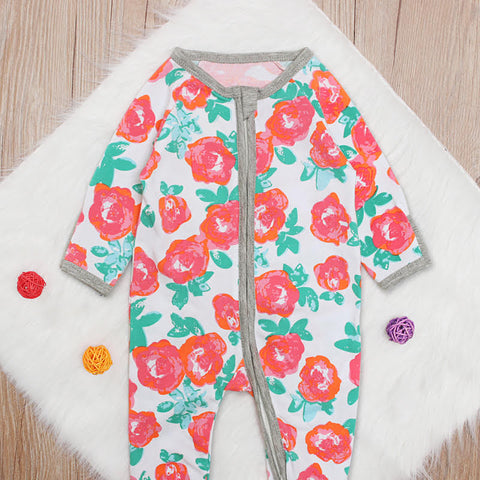 Sweet Floral Sleep Suit