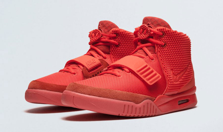 Airs Yeezy 2s « Red October »