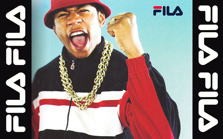Rappers from Queens wearing fila